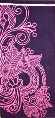 Полотенце махровое жаккардовое Пейсли-2Подарки на День рождения<br><br><br>Размер: 50х100 см