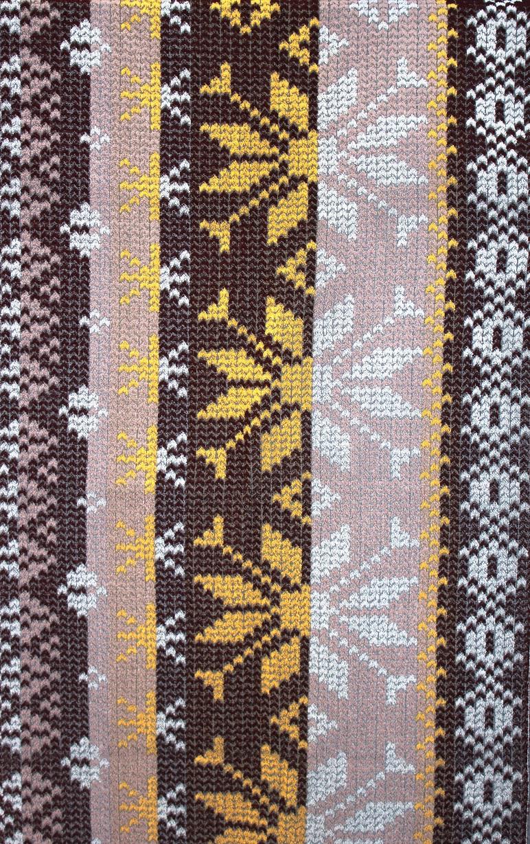 Полотенце махровое жаккардовое Вязаное банноеПодарки на Новый год и Рождество<br><br><br>Размер: 70х140 см