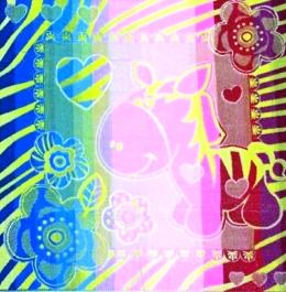 Полотенце махровое жаккардовое Зебра детскоеДетские изделия<br><br><br>Размер: 100х100 см