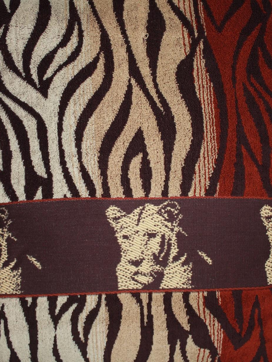 Простыня махровая жаккардовая Тигровая шкураПростыни<br><br><br>Размер: 215х220 см