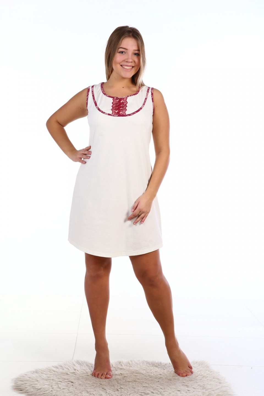 Сорочка женская Желана с круглым вырезомДомашняя одежда<br><br><br>Размер: 54