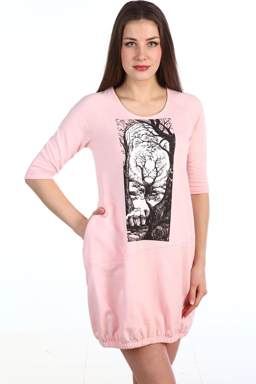 Туника женская Асида с рукавами 3/4Коллекция ВЕСНА-ЛЕТО<br><br><br>Размер: 42
