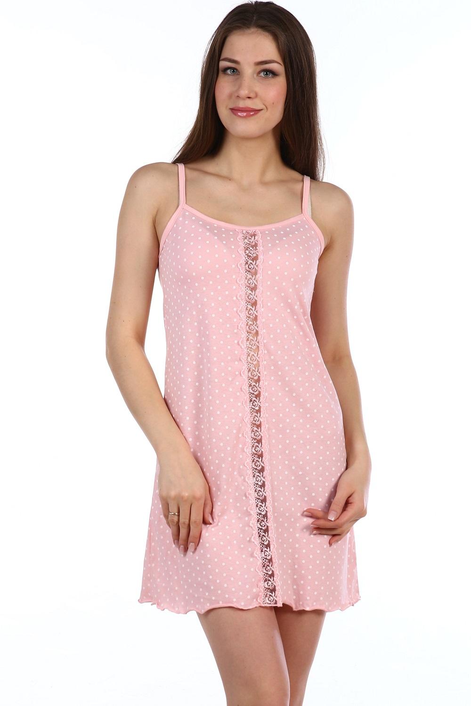Сорочка женская Офелия на бретелькахСорочки<br><br><br>Размер: 48