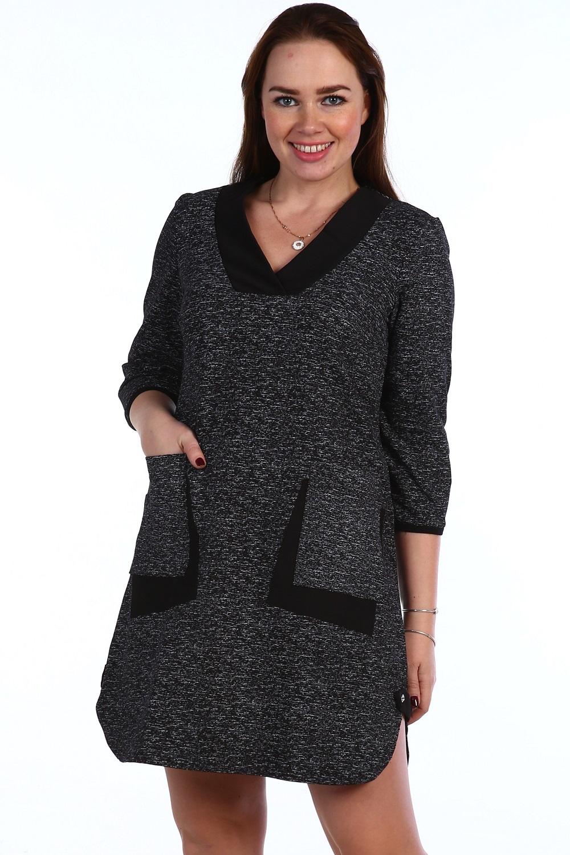 Платье женское Вятка с карманамиПлатья и сарафаны<br><br><br>Размер: 56