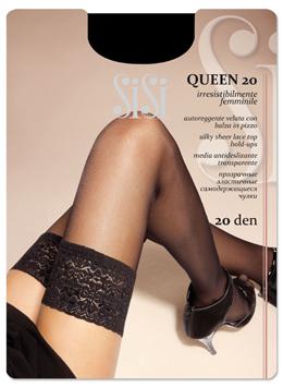 Чулки женские SISI QUEEN 20Чулки и колготки<br><br><br>Размер: Diano, размер 2