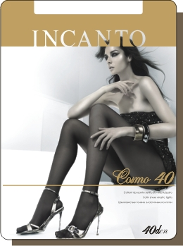 Колготки женские INCANTO Cosmo 40Чулки и колготки<br><br><br>Размер: Grafite (размеры 2, 3)