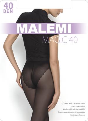 Колготки женские Malemi Magic 40Чулки и колготки<br><br><br>Размер: Melon (размеры 2, 3, 4, 5)
