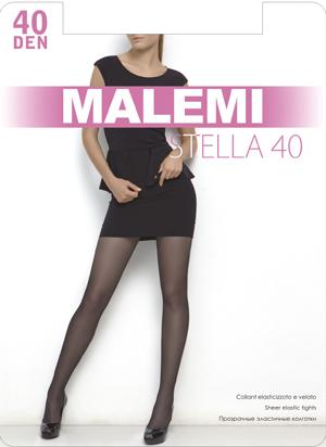 Колготки женские Malemi Stella 40Чулки и колготки<br><br><br>Размер: Nero (размеры 2, 3, 4, 5)