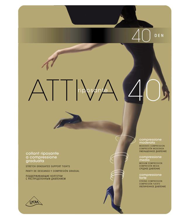 Колготки женские OMSA ATTIVA 40Чулки и колготки<br><br><br>Размер: Camoscio