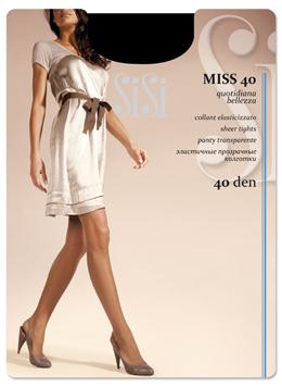 Колготки женские SISI MISS 40Чулки и колготки<br><br><br>Размер: Grafite