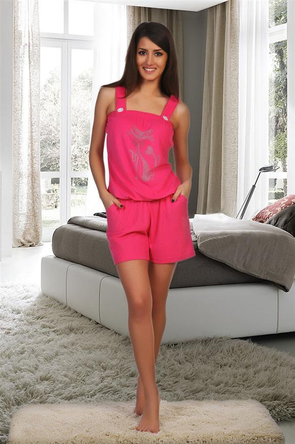 Комбинезон женский Кэти домашнийДомашняя одежда<br><br><br>Размер: 52
