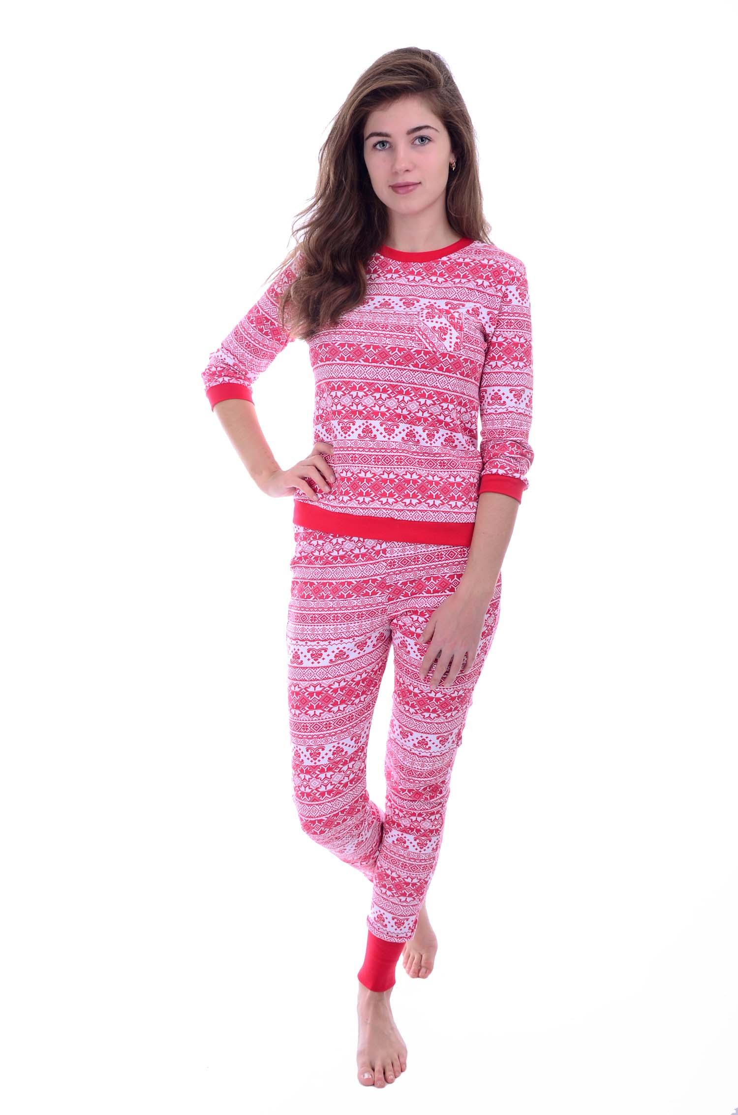 Костюм женский Снежинка домашнийДомашняя одежда<br><br><br>Размер: 48