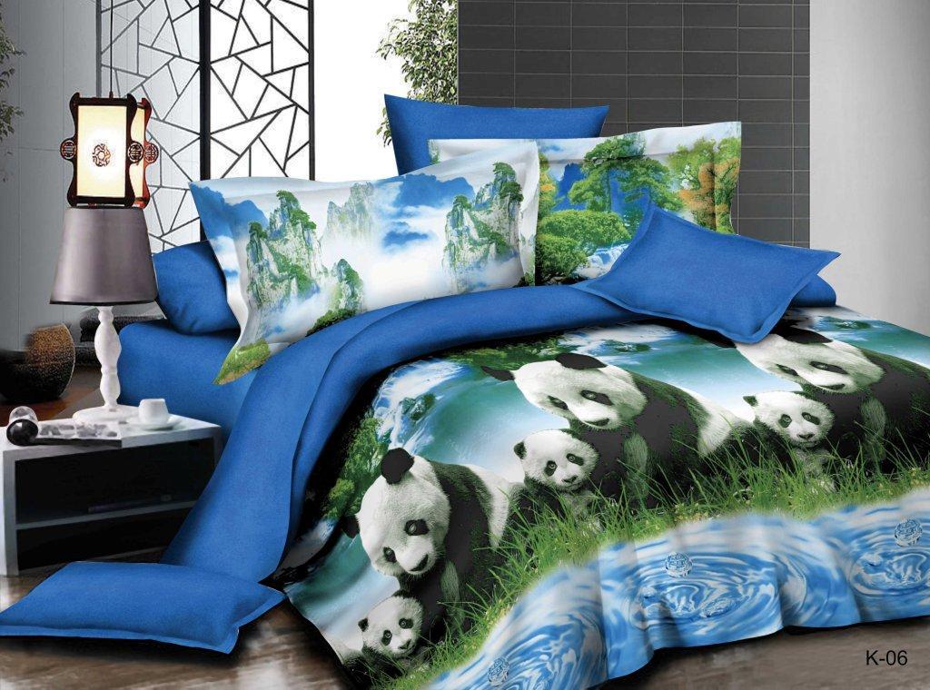 Комплект постельного белья из полисатина ЧэндуПолисатин<br><br><br>Размер: 1.5сп. (2 нав.70х70)