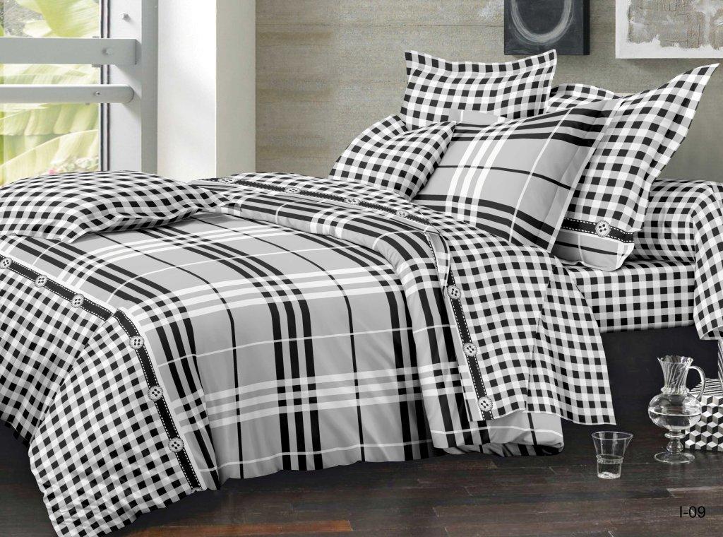 Комплект постельного белья из полисатина ШерлокПолисатин<br><br><br>Размер: Евростандарт (2 нав. 70х70)