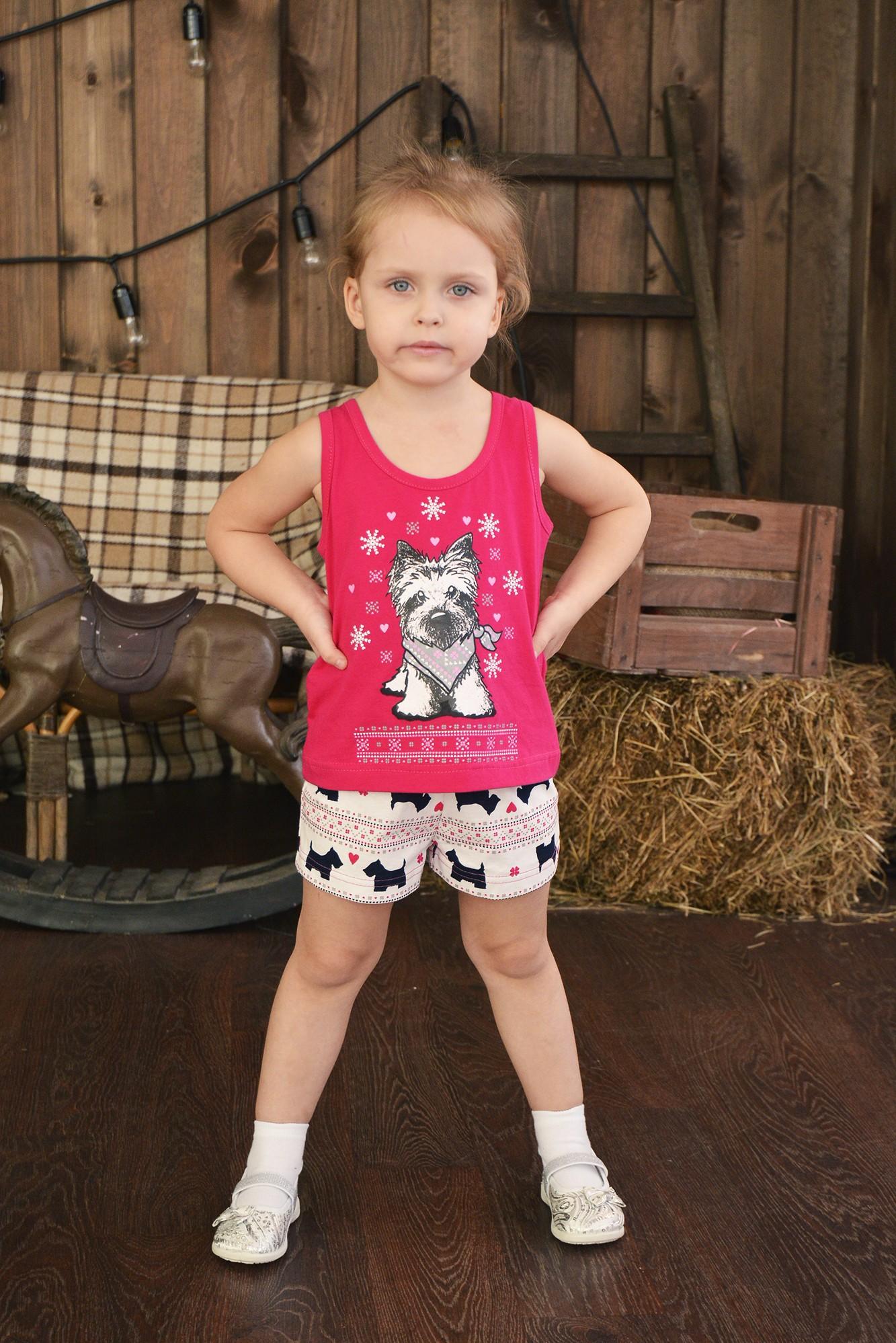 Пижама детская Паппи Д для девочкиХалаты и пижамы<br><br><br>Размер: 72-128
