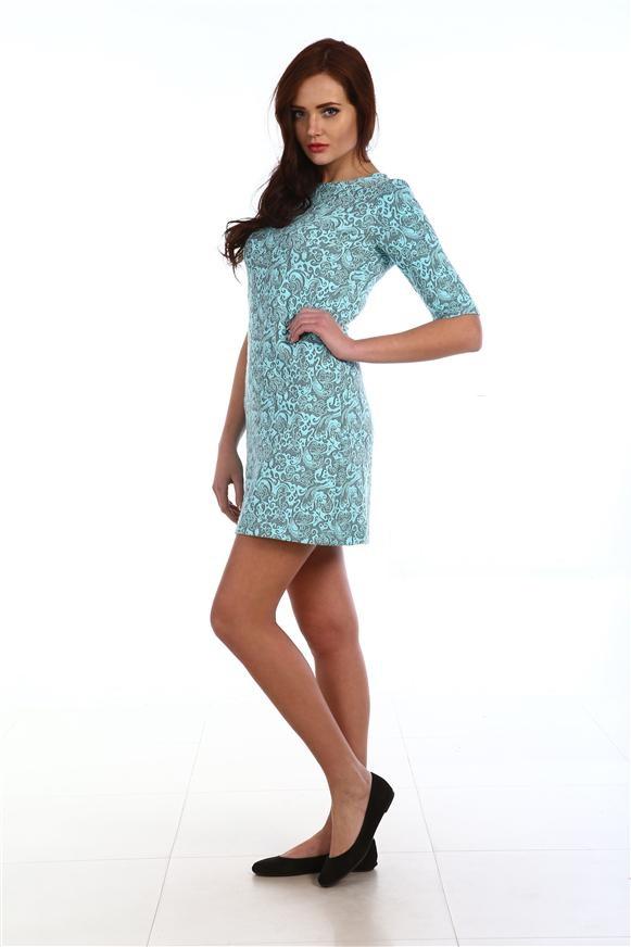 Платье женское Жаккард миниКоллекция ОСЕНЬ-ЗИМА<br><br><br>Размер: Розовый