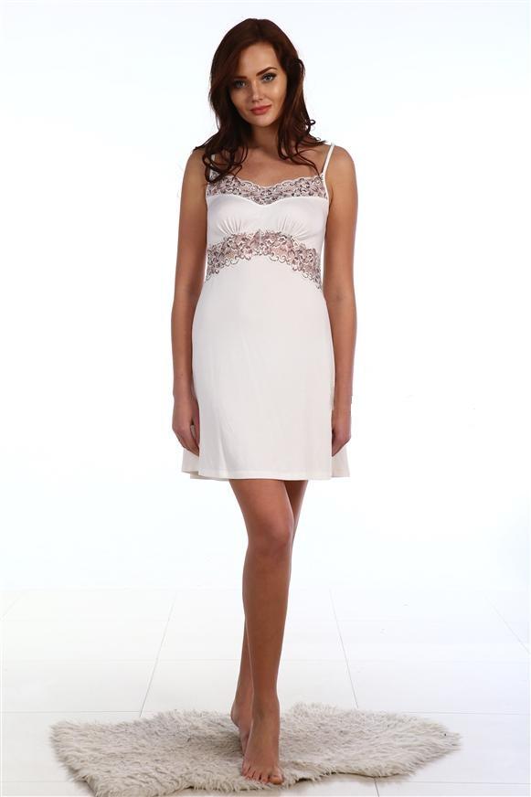 Сорочка женская Мэрилин на тонких бретеляхДомашняя одежда<br><br><br>Размер: 48