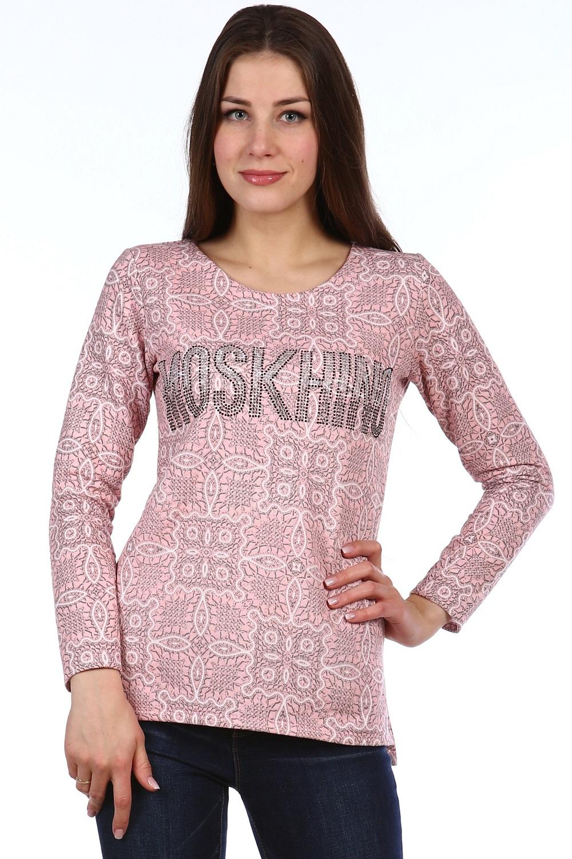 Толстовка женская Кино с круглым вырезомКофты, свитера, толстовки<br><br><br>Размер: 50