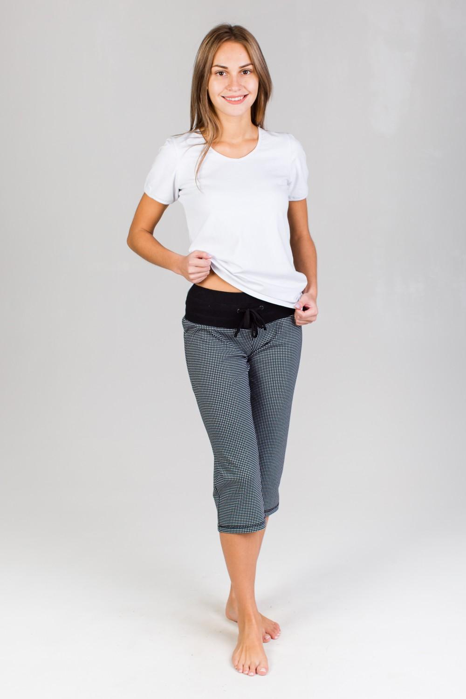 Бермуды женские Веста с поясомБрюки, шорты<br><br><br>Размер: 42