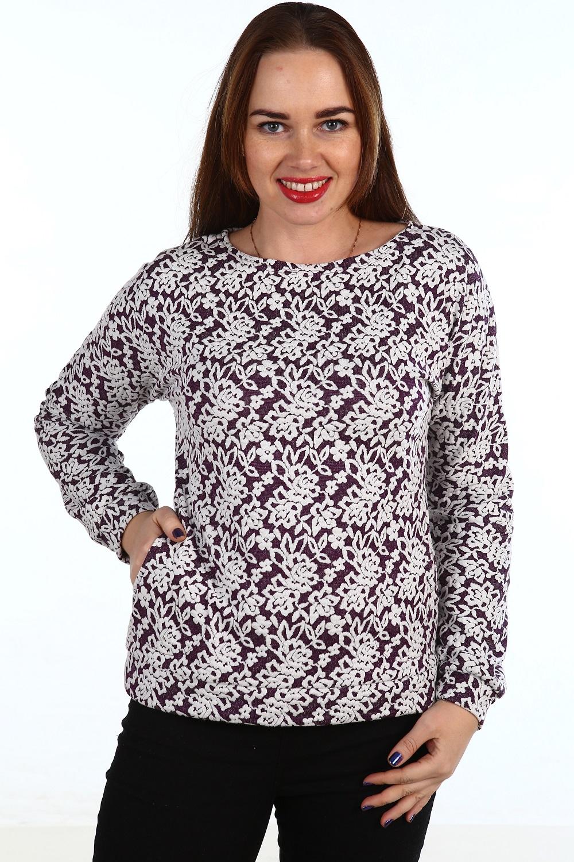 Блузка женская Джоконда с карманамиТуники, рубашки и блузы<br><br><br>Размер: 46