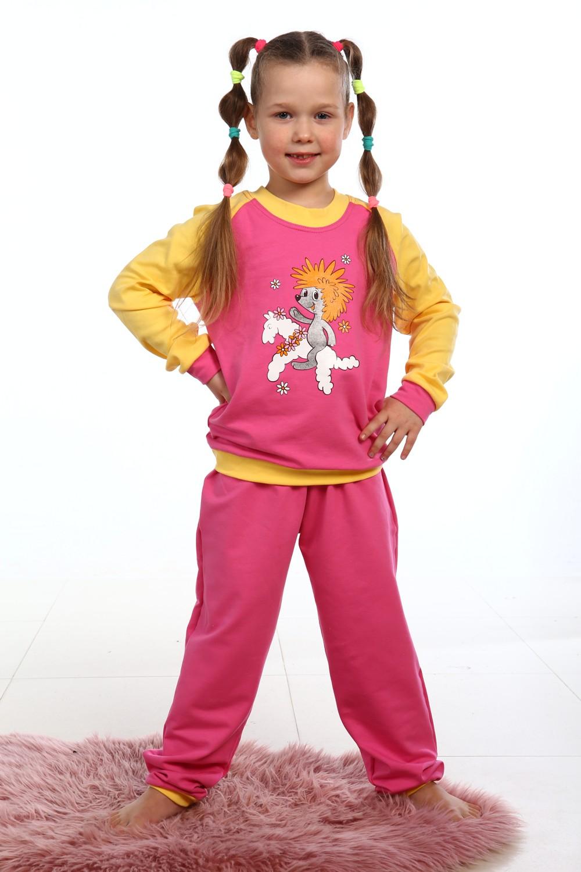 Костюм детский Ёжик толстовка и брюкиКоллекция ОСЕНЬ-ЗИМА<br><br><br>Размер: Розовый