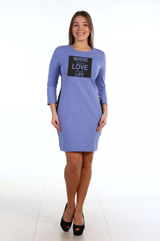 Платье женское Исидора с надписьюКоллекция ОСЕНЬ-ЗИМА<br><br><br>Размер: 44