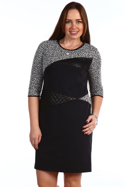 Платье женское Наиля с круглым вырезомПлатья и сарафаны<br><br><br>Размер: 54