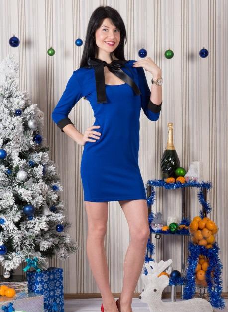 Платье женское Джулиана с рукавом 3/4Коллекция ОСЕНЬ-ЗИМА<br><br><br>Размер: 48