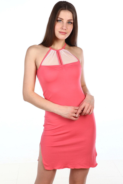Сорочка женская Анхель без бретелейДомашняя одежда<br><br><br>Размер: 46