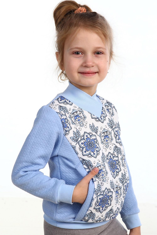 Толстовка детская Герда для девочкиКоллекция ОСЕНЬ-ЗИМА<br><br><br>Размер: 32