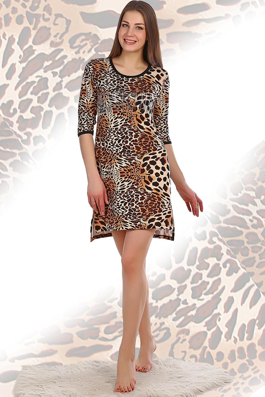 Туника женская Фауна с разноуровневым подоломТуники, рубашки и блузы<br><br><br>Размер: 42