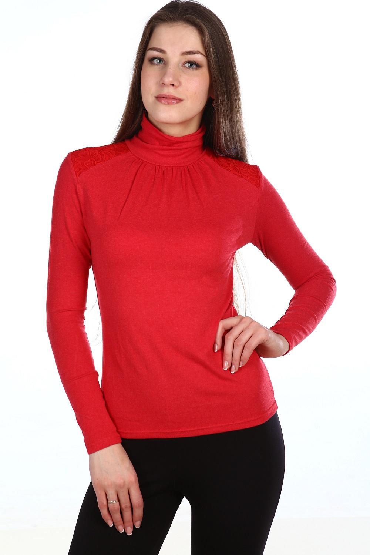 Водолазка женская Итальянка с воротником-стойкойКофты, свитера, толстовки<br><br><br>Размер: 48