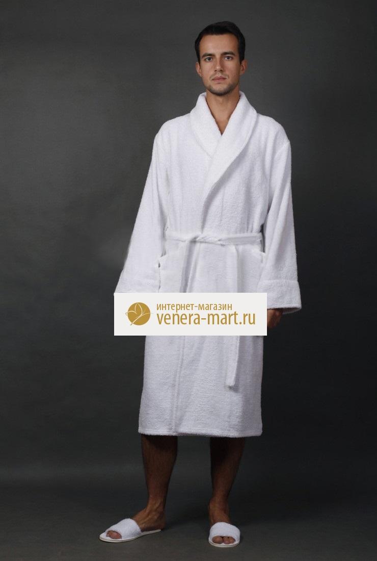 Халат мужской Отельный удлиненныйПодарки к 23 февраля<br><br><br>Размер: 46