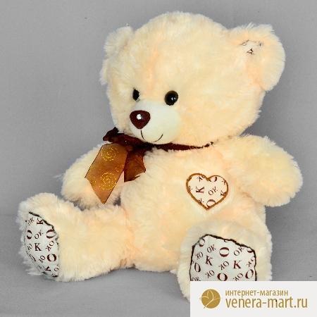 Мягкая игрушка мишка Падди с сердцемПодарки к 8 марта<br><br><br>Размер: 30 см
