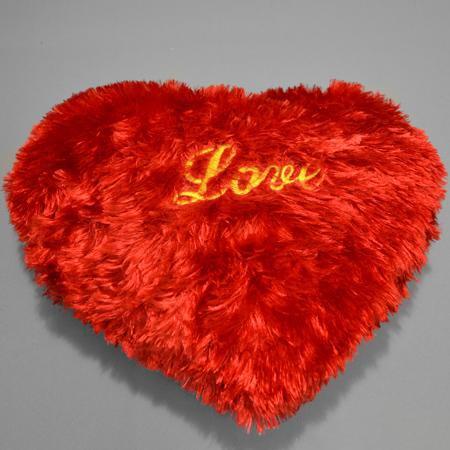Мягкая игрушка-подушка Сердце с надписьюПодарки к 14 февраля<br><br><br>Размер: 35 см