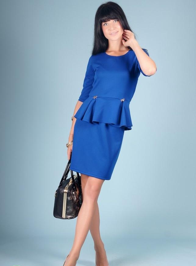 Костюм женский Берта блуза и юбкаКоллекция ОСЕНЬ-ЗИМА<br><br><br>Размер: 50