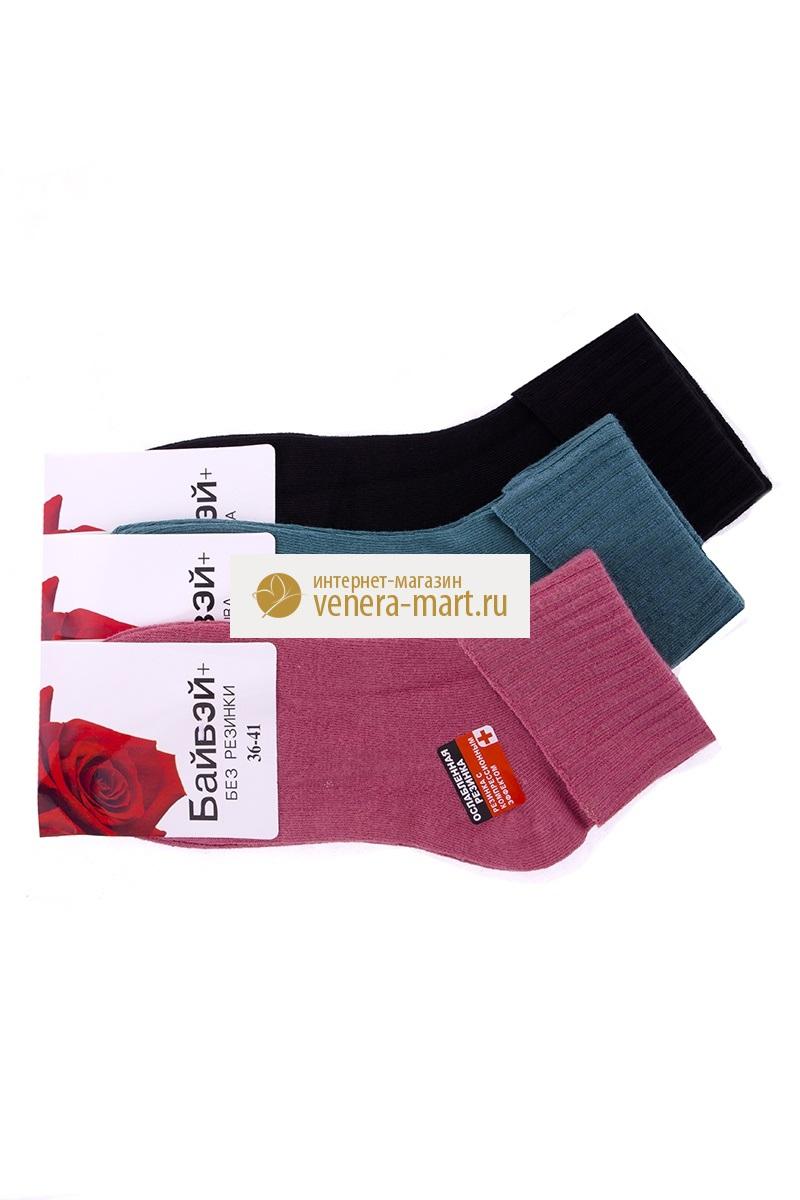 Носки женские Байвэй в упаковке, 4 парыНоски<br><br><br>Размер: 36-41 (универсальный)
