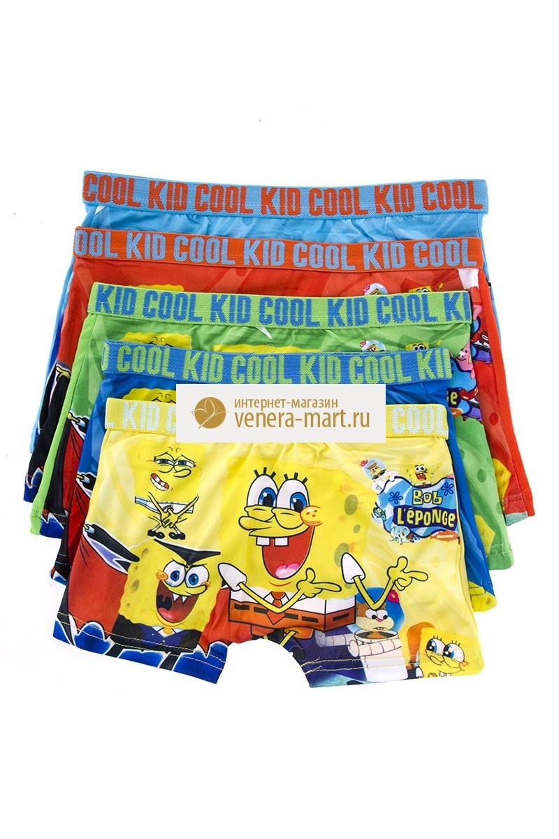 Трусы детские для мальчика Cool Kid в упаковке, 4 шт.Нижнее белье<br><br><br>Размер: 2XL (6-7 лет)