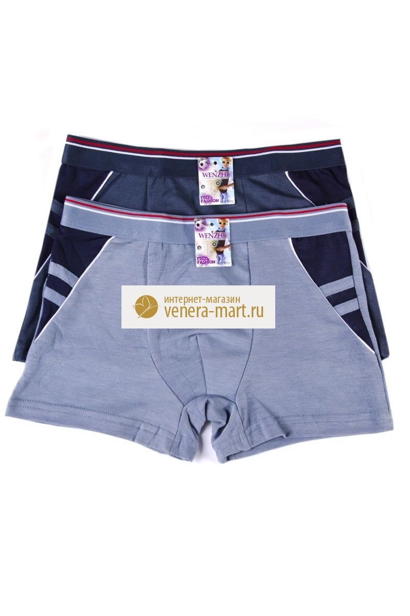 Трусы подростковые для мальчика Wenzhi в упаковке, 4 шт.Нижнее белье<br><br><br>Размер: 8-10 лет