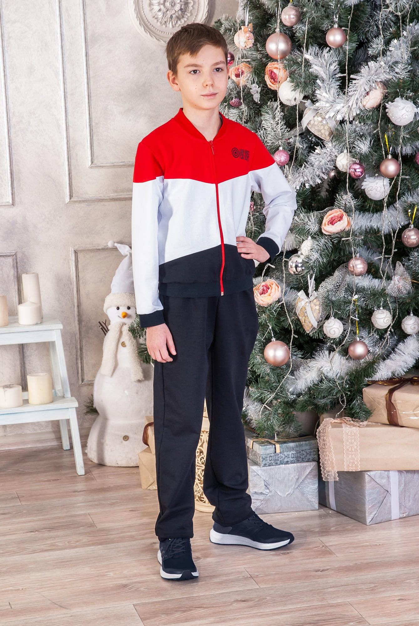 Костюм для мальчика Спорт бой куртка и брюкиКомплекты и костюмы<br><br><br>Размер: 72-128