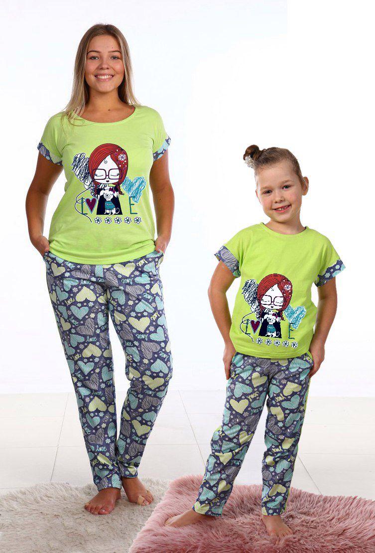 Костюм женский Имме футболка и брюкиДомашняя одежда<br><br><br>Размер: 44
