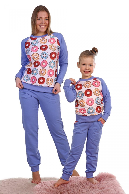 Костюм женский Сладкоежка футболка и брюкиДомашняя одежда<br><br><br>Размер: 44
