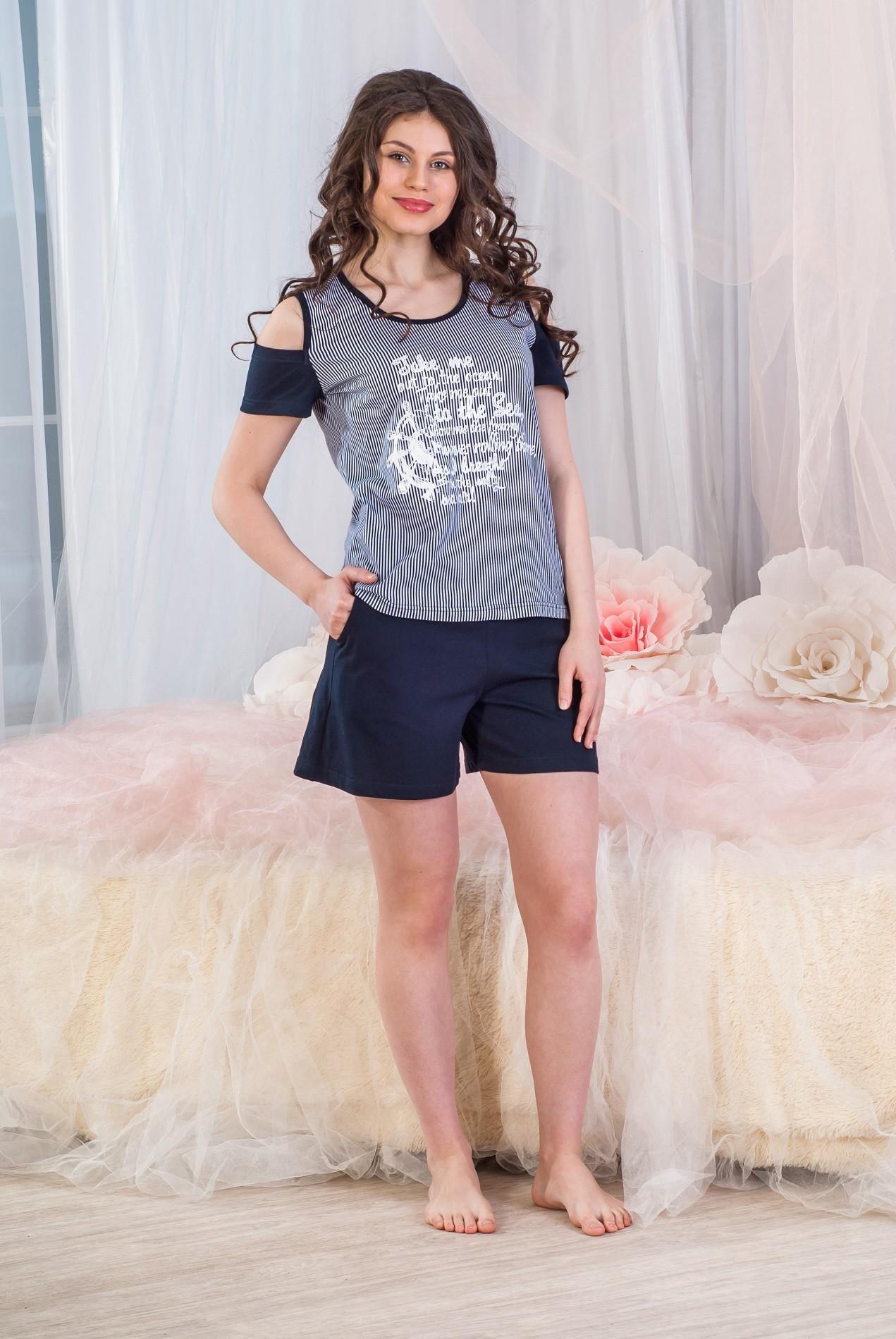 Костюм женский Туристка футболка и брюкиКостюмы<br><br><br>Размер: 52