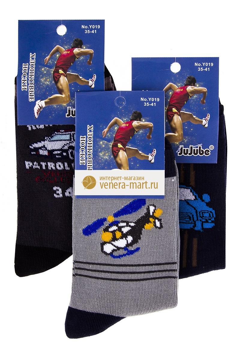Носки подростковые для мальчика JuJube в упаковке, 6 парНоски, гольфы<br><br><br>Размер: 35-41