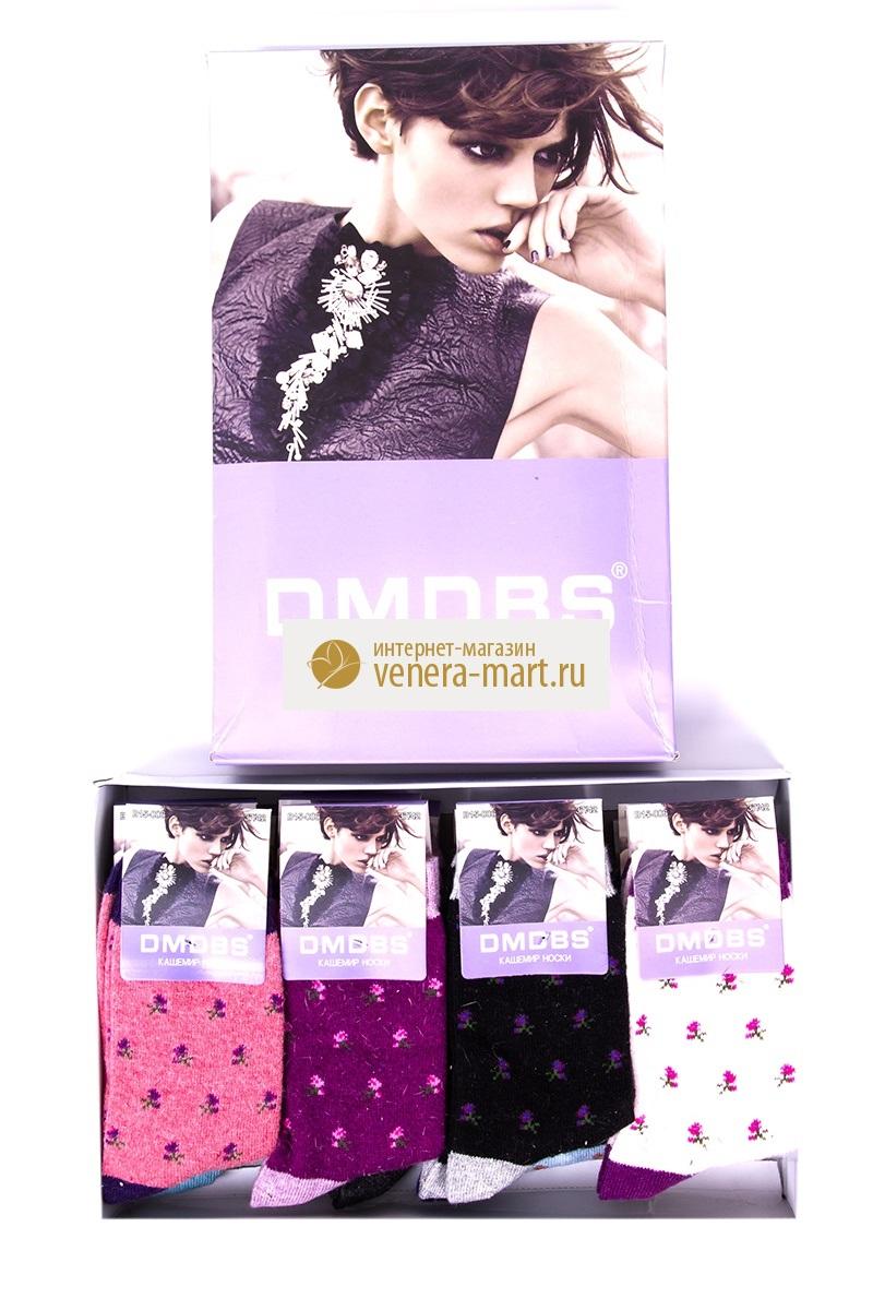 Носки женские DMDBS (кашемир), подарочный набор, 4 шт.Подарки к 8 марта<br><br><br>Размер: 37-42 (универсальный)
