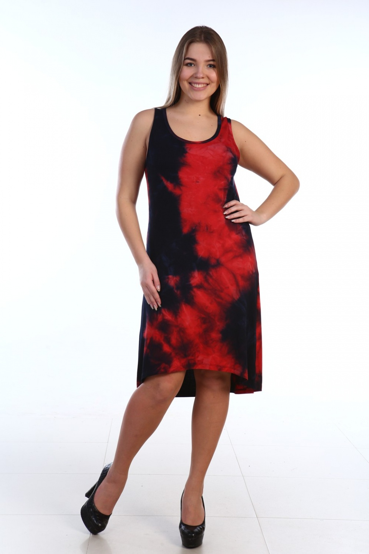 Сарафан женский Наоми с разноуровневым подоломПлатья и сарафаны<br><br><br>Размер: 48