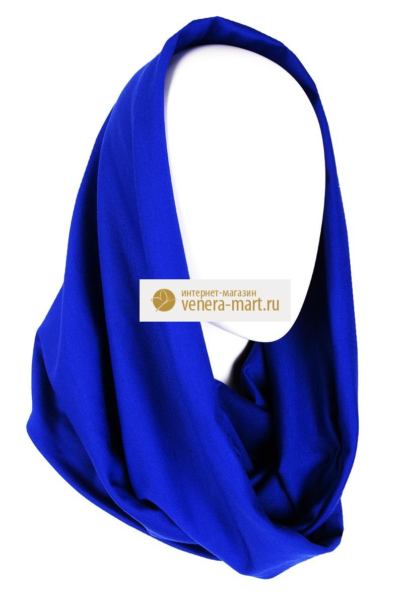 Шарф-хомут женский ДионаПодарки на День рождения<br><br><br>Размер: Синий