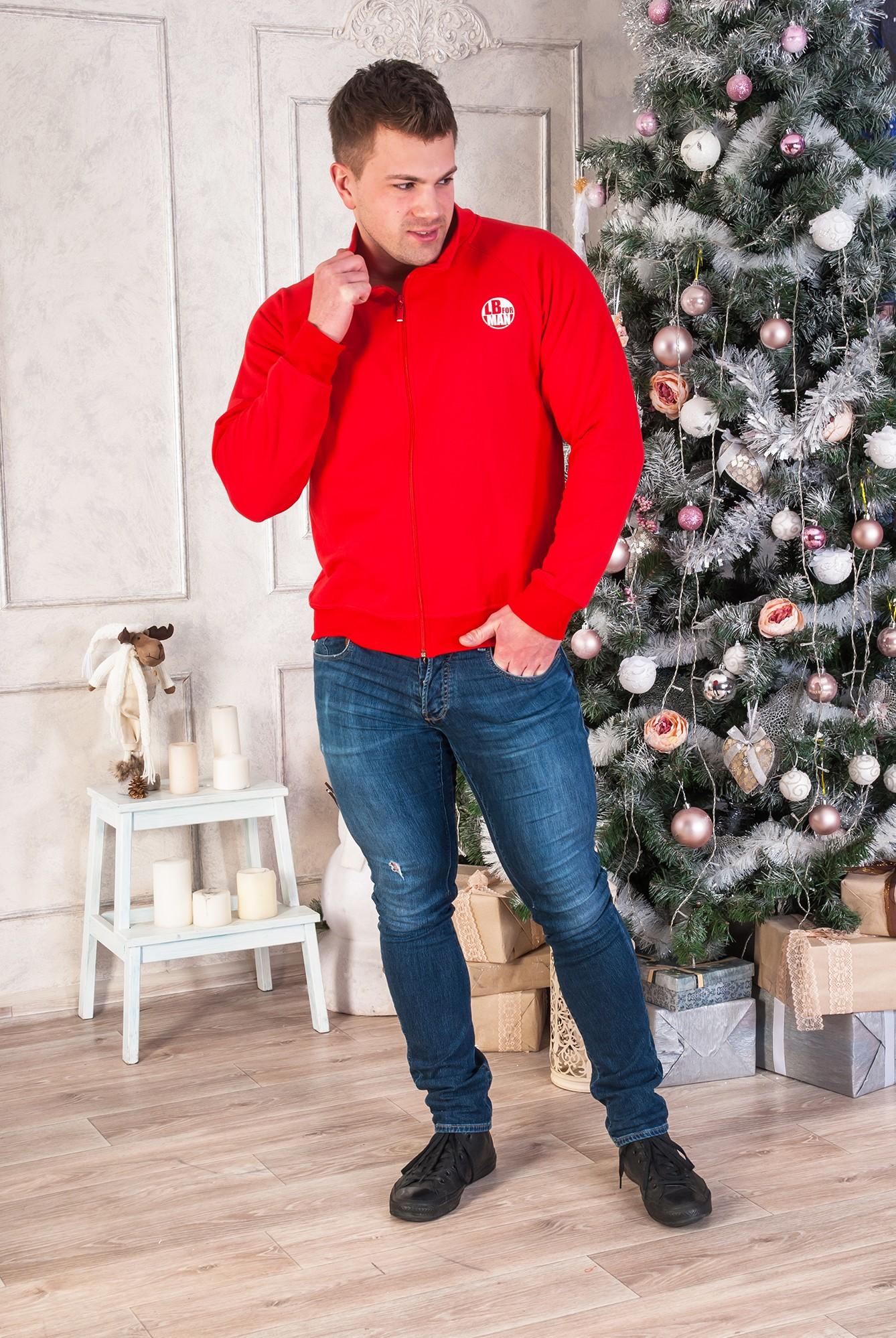 Толстовка мужская LB man с воротником-стойкойДжемперы, свитеры, толстовки<br><br><br>Размер: 58