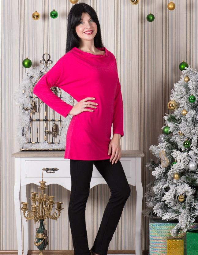 Туника женская Каролина с длинным рукавомТуники, рубашки и блузы<br><br><br>Размер: 50