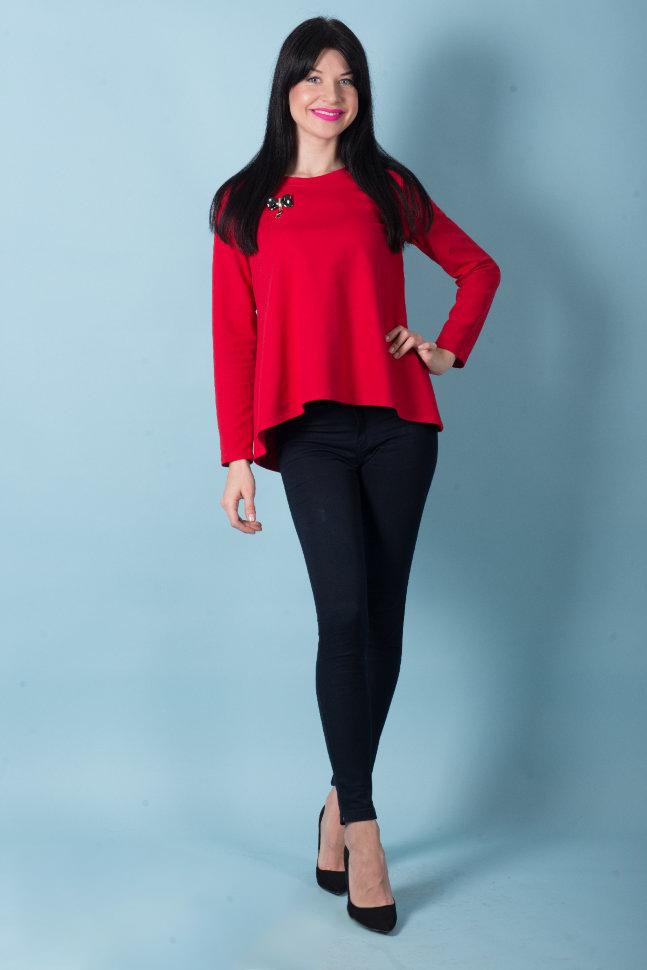 Туника женская Трейси с бантом сзадиТуники, рубашки и блузы<br><br><br>Размер: 54